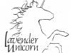 Lavender Unicorn Logo
