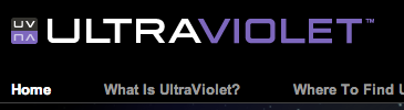 UltraViolet website graphic